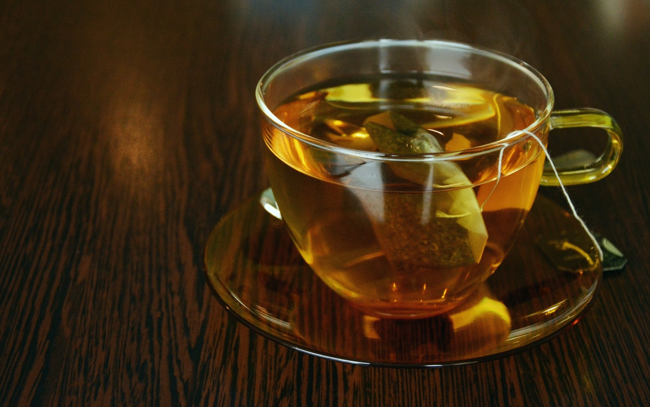 Mint and Ginger tea for Constipation